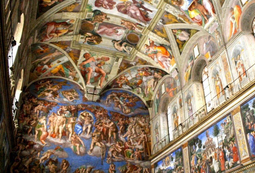 cappella sistina 2 25 археологических и архитектурных чудес Европы
