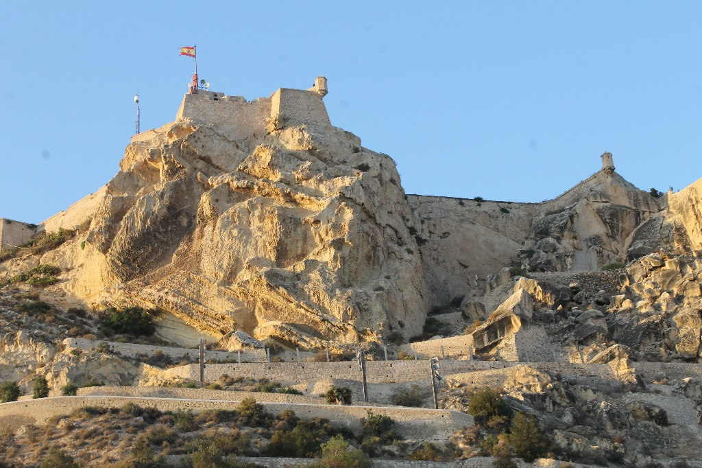 castello de santa barbara alicante Регион Валенсия жемчужина Испании: провинции Валенсия, Аликанте, Кастельон