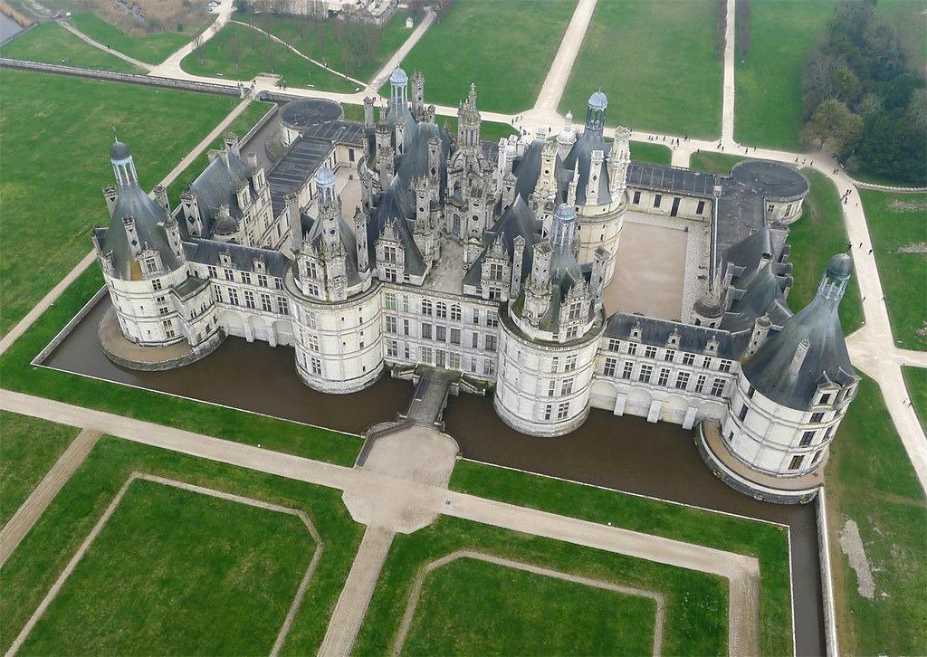 chateau de chambord 25 археологических и архитектурных чудес Европы