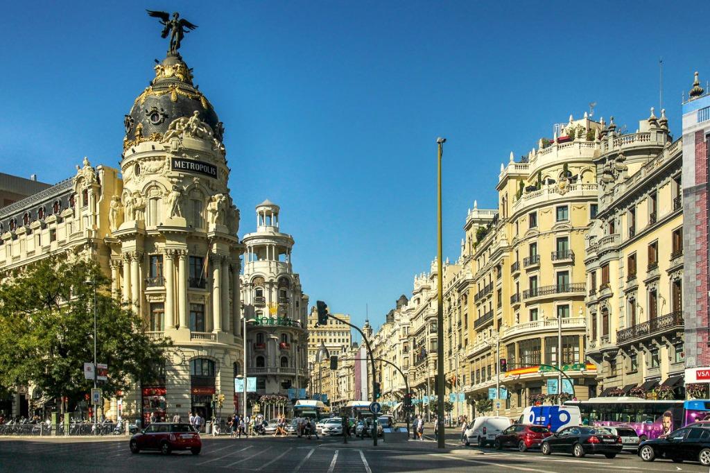 gran via madrid Город Мадрид - достопримечательности