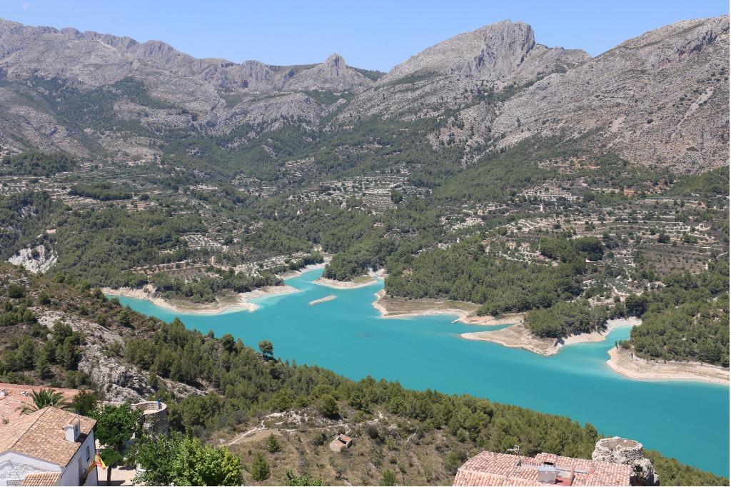 guadalest Регион Валенсия жемчужина Испании: провинции Валенсия, Аликанте, Кастельон