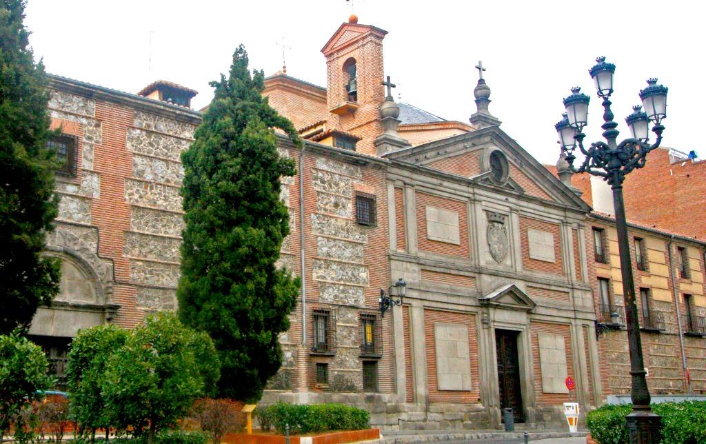 monastyr deskalsas reales monasterio de las descalzas reales Город Мадрид - достопримечательности