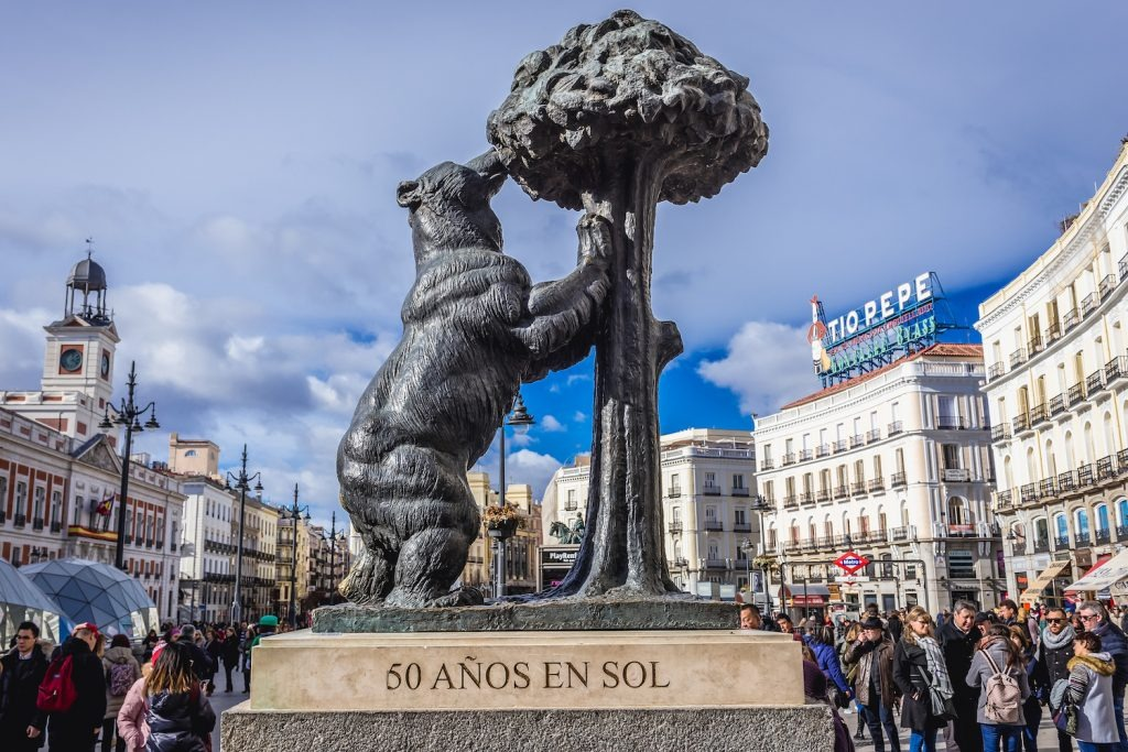 oso y madono Город Мадрид - достопримечательности