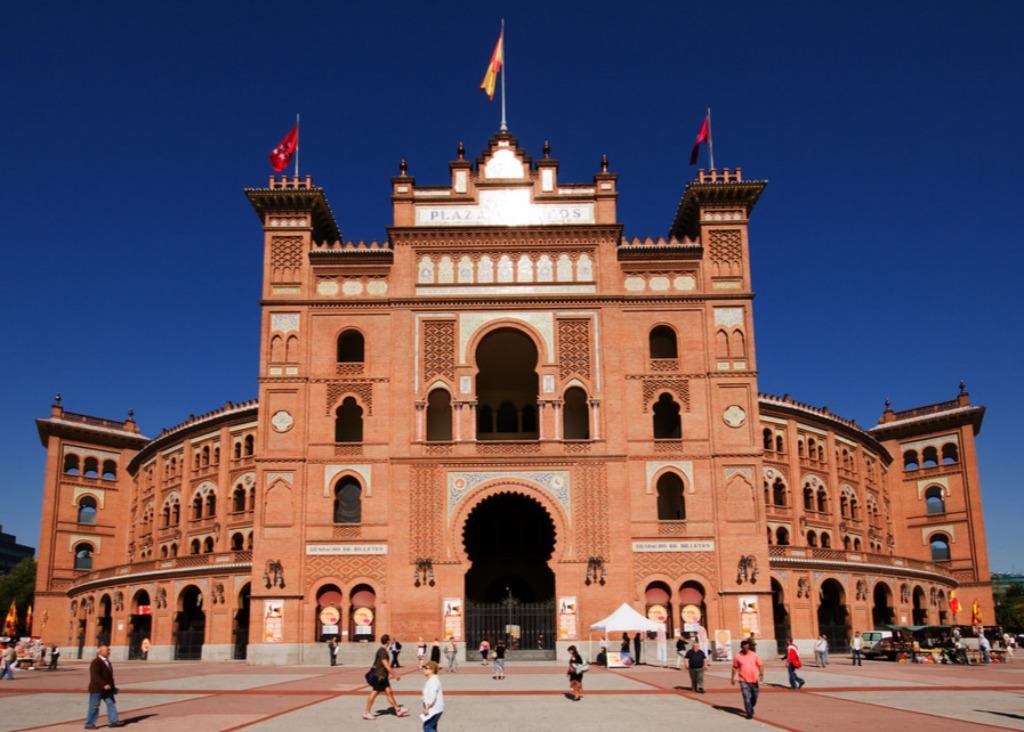 plaza de toros de las ventas madrid Город Мадрид - достопримечательности