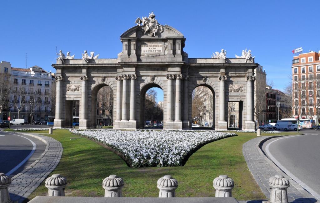 puerta de alkala Город Мадрид - достопримечательности