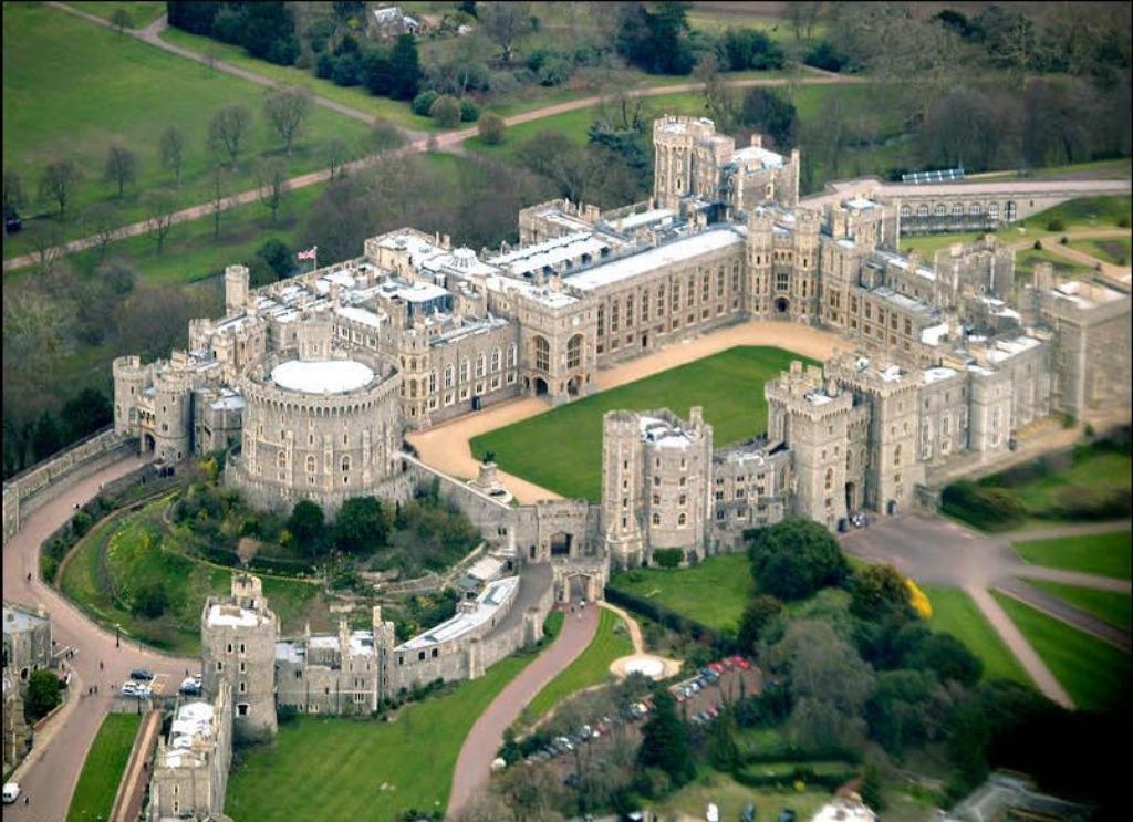 windsor castle 25 археологических и архитектурных чудес Европы