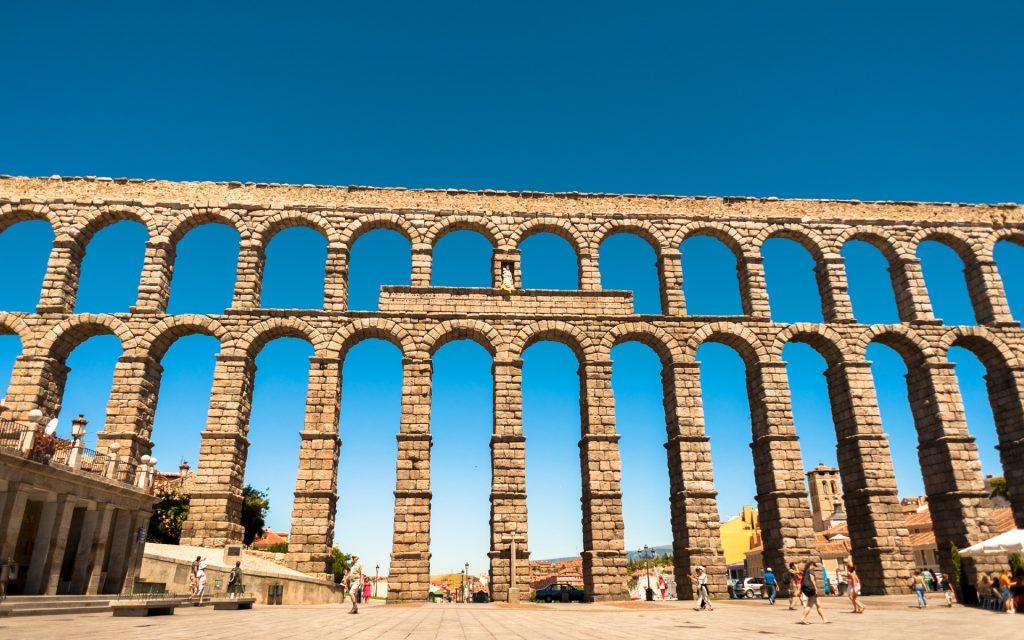 aqueduct of spain Чудеса Испании. Часть 1