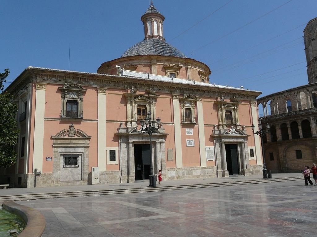 bazilika bogorodiczy pokrovitelniczy valensii Районы Валенсии, часть 2 (1-3, Ciutat Vella, L'Eixample, Extramurs)