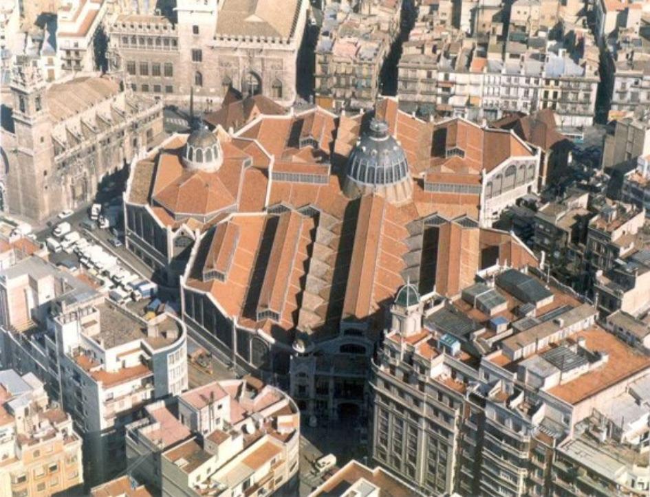 czentralnyj rynok valensii Районы Валенсии, часть 2 (1-3, Ciutat Vella, L'Eixample, Extramurs)