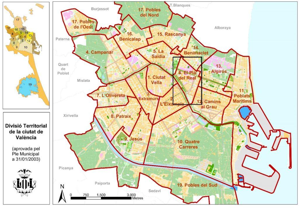 el pla del real Районы Валенсии, часть 3 (4-6, Campanar, La Zaidia, El Pla del Real)