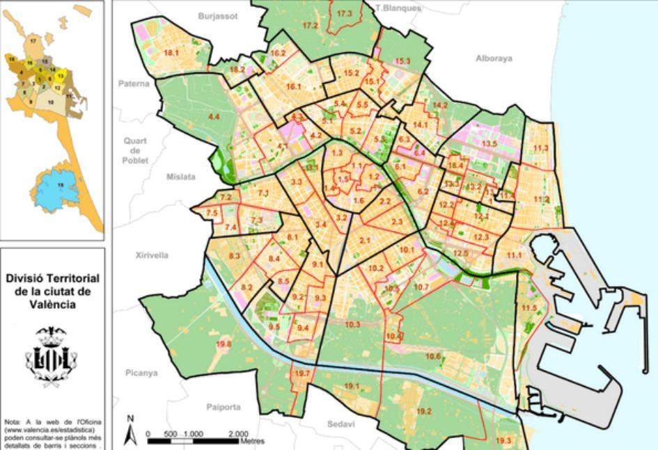 kupit nedvizhimost v valensii Районы Валенсии, часть 1 (Выбор жилья в Валенсии)