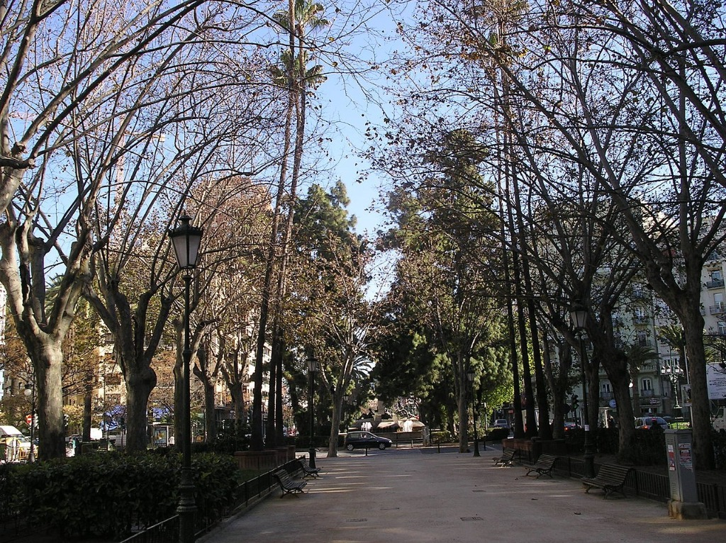 kvartal gran via Районы Валенсии, часть 2 (1-3, Ciutat Vella, L'Eixample, Extramurs)