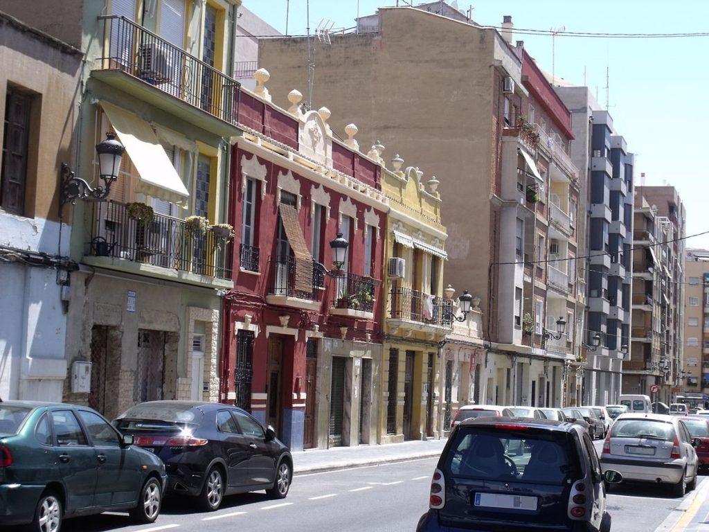 kvartal la raiosa Районы Валенсии, часть 4 (7-9, L'Olivereta, Patraix, Jesus)