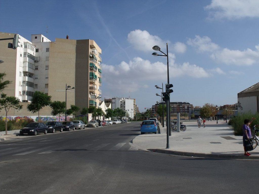kvartal safranar Районы Валенсии, часть 4 (7-9, L'Olivereta, Patraix, Jesus)