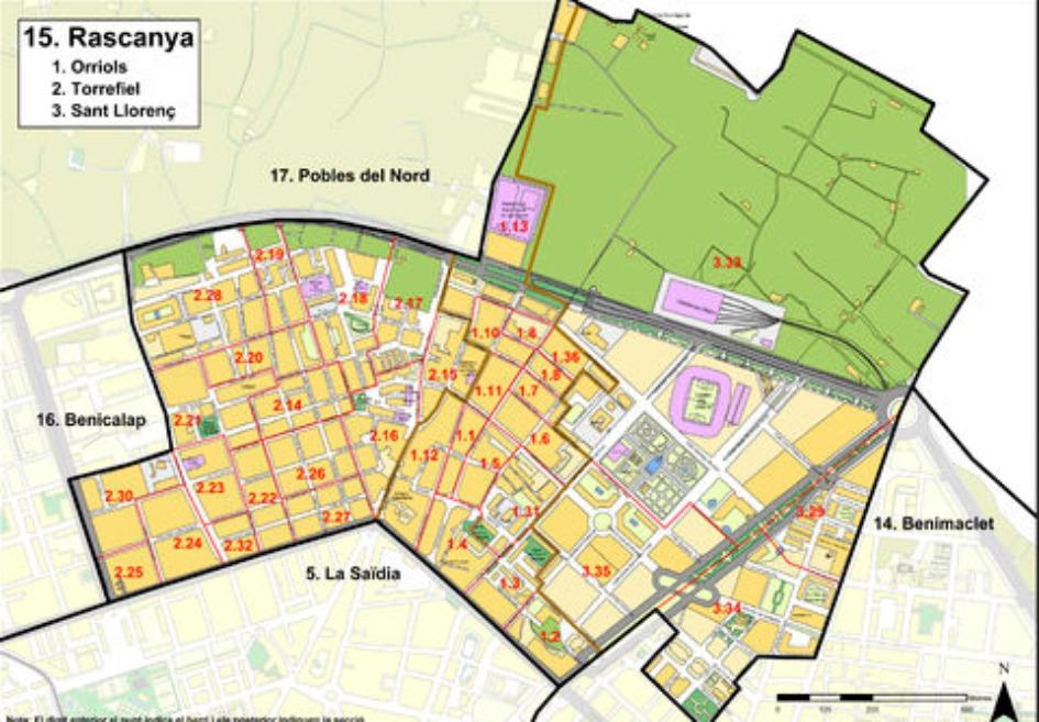 kvartaly rajona rascanya v valensii Районы Валенсии, часть 6 (13-15, Algirós, Benimaclet, Rascanya)