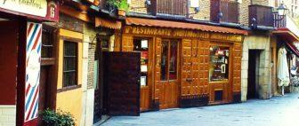 Мадрид: самый старинный ресторан в мире Sobrino de Botín