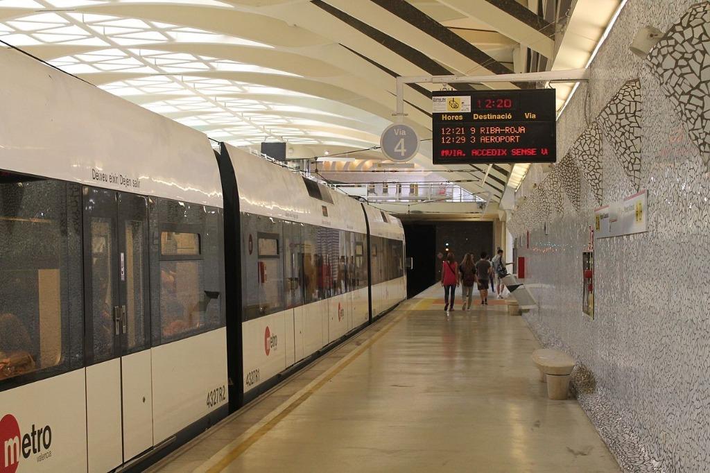 metro v valensii Районы Валенсии, часть 6 (13-15, Algirós, Benimaclet, Rascanya)
