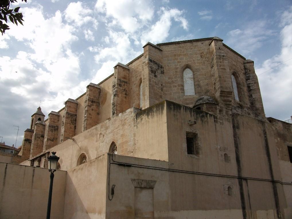monastyr monestir de la trinitat Районы Валенсии, часть 3 (4-6, Campanar, La Zaidia, El Pla del Real)