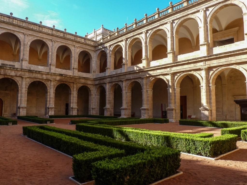 monastyr san migel de los rejes v valensii v ispanii Районы Валенсии, часть 6 (13-15, Algirós, Benimaclet, Rascanya)