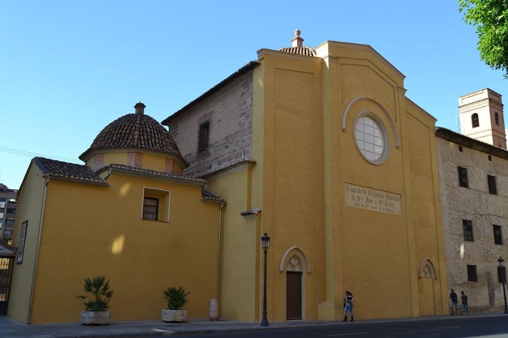 monastyr san vicente Районы Валенсии, часть 2 (1-3, Ciutat Vella, L'Eixample, Extramurs)