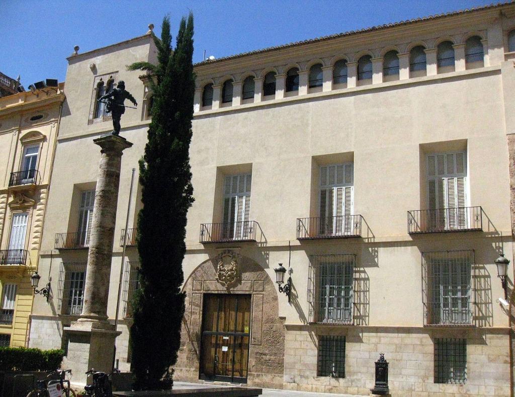 palacio del marques de la scala Районы Валенсии, часть 2 (1-3, Ciutat Vella, L'Eixample, Extramurs)