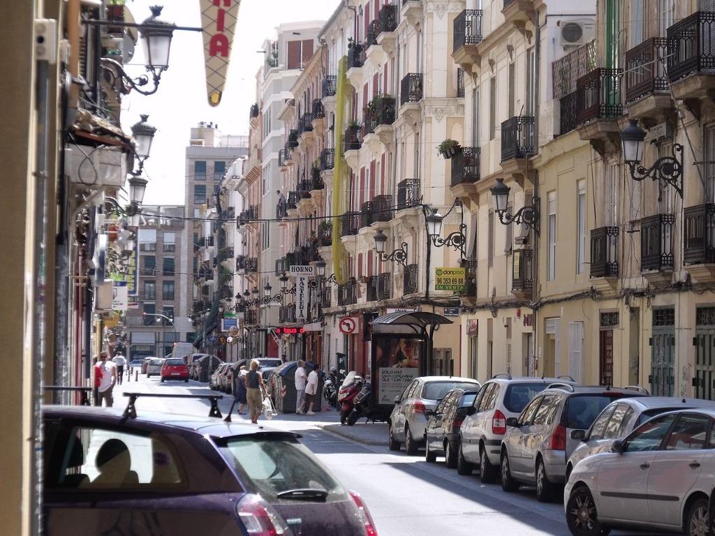 parkovki v valensii Районы Валенсии, часть 2 (1-3, Ciutat Vella, L'Eixample, Extramurs)