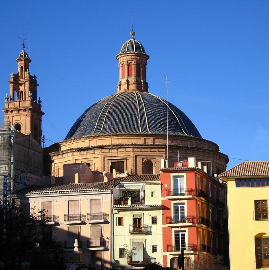 pia de valencia Районы Валенсии, часть 2 (1-3, Ciutat Vella, L'Eixample, Extramurs)
