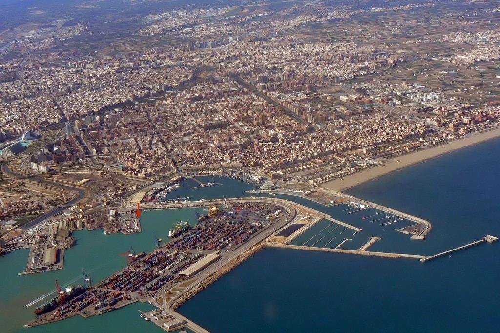 port valensii Районы Валенсии, часть 5 (10-12, Quatre Carreres, Poblats Marítims, Camins al Grau)