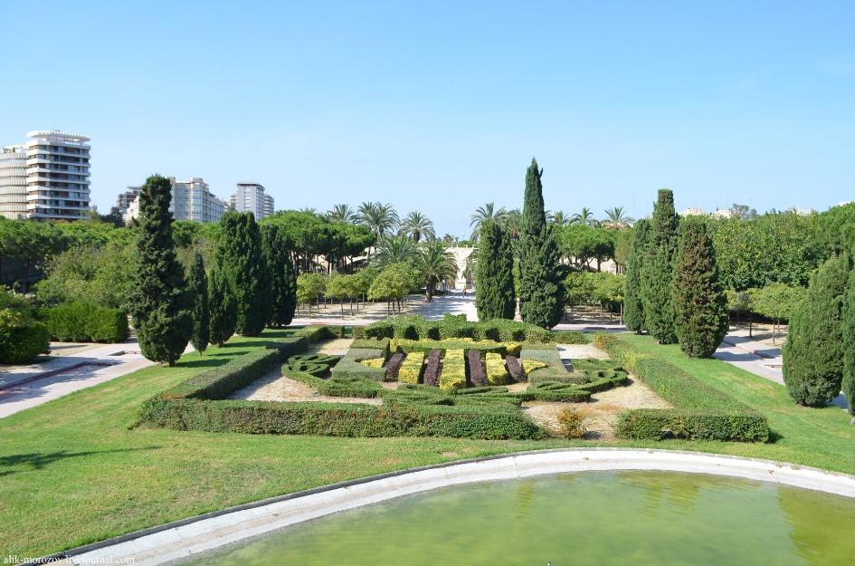 sady turii jardin del turia Достопримечательности Валенсии: что посетить и посмотреть?