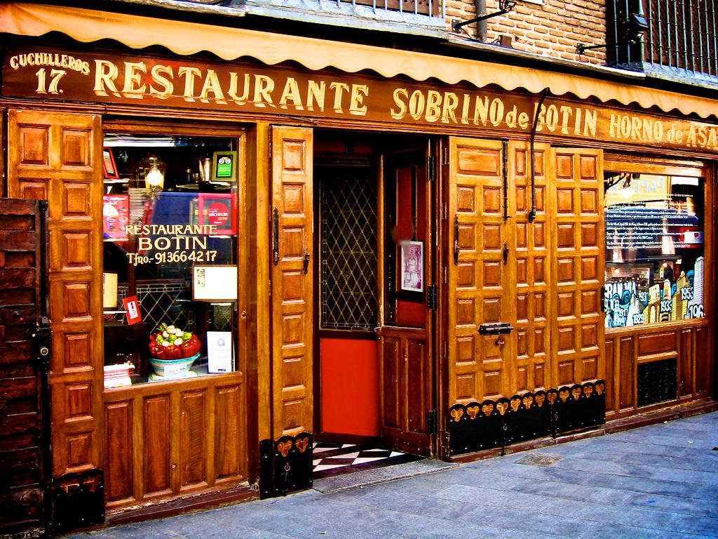 samyj starinnyj restoran v mire v madride Мадрид: самый старинный ресторан в мире Sobrino de Botín
