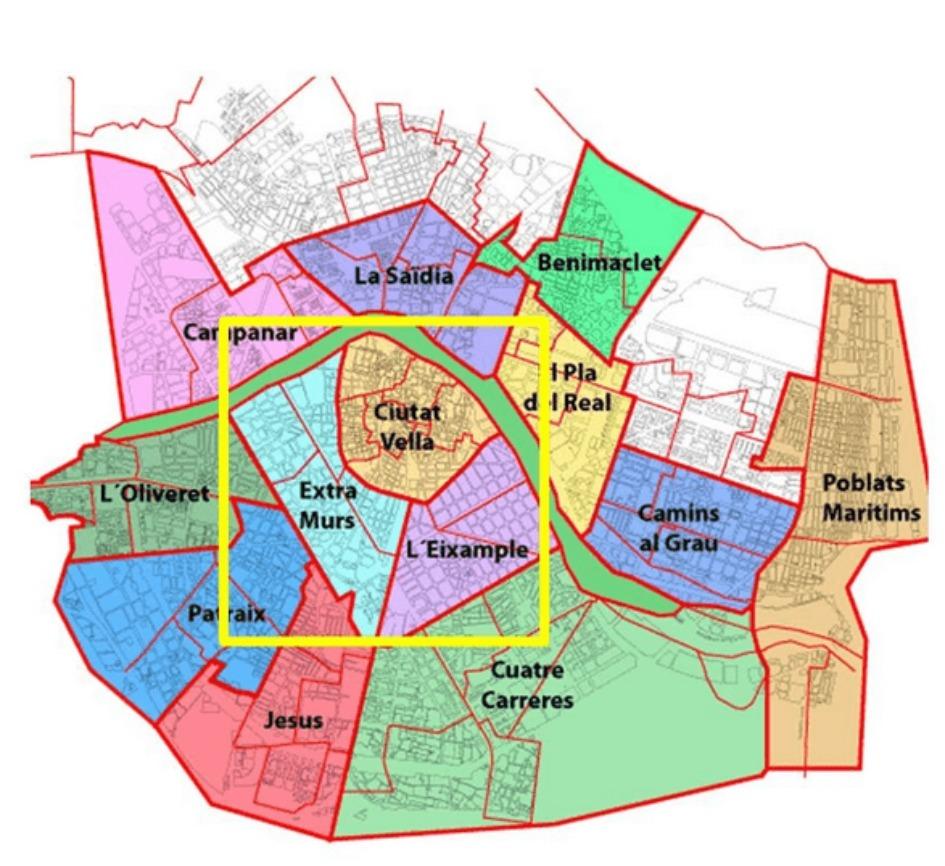 tsentr valensii prodazha nedvizhimosti Районы Валенсии, часть 1 (Выбор жилья в Валенсии)