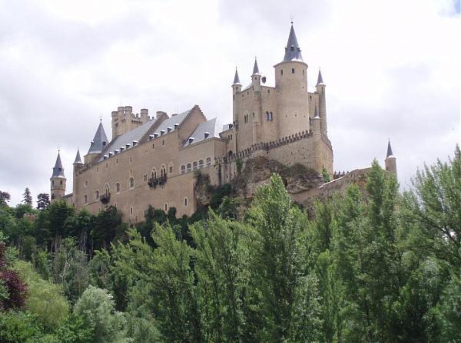 zamok alkasar Замки Испании, открытые для посещений