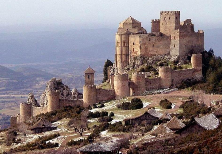 zamok loarre Замки Испании, открытые для посещений